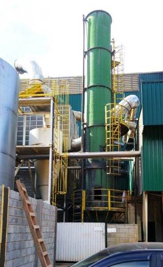 Retrofit, modernização do Lavador KALTE-TEC em PRFV