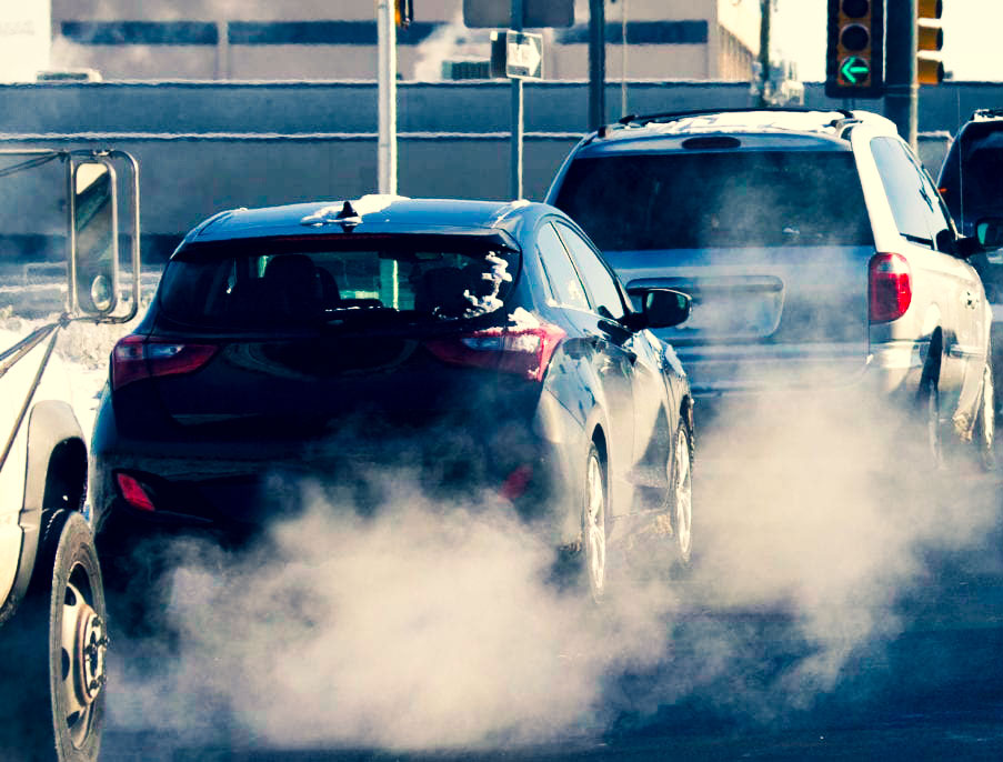 Exaustão Veicular - Carro Poluição