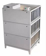 Filtro Elet. Duplo Estágio com capacidade Nominal de 9.900 m³/h