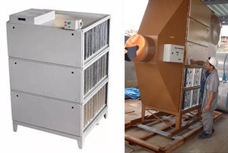 Filtro Eletrostático - Redesenhado em 1929 pelo Francés Penney