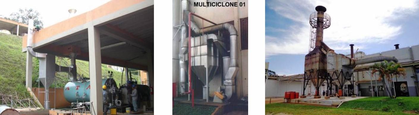 Instalações de Multiciclones para Caldeiras a Óleo BPF