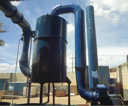 Lavadores de Gases Industriais