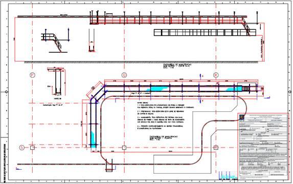 Fabricação e Instalação de Plataformas Metálicas para Manutenção de Sistemas EOM.
