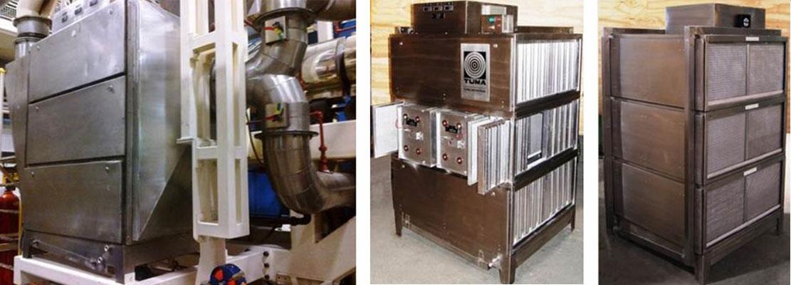 Tetra Pak Ltda - 07 filtros eletrostáticos para névoas de Polietileno de extrusoras e calandras